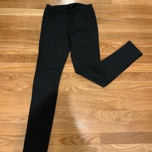 Sanctuary plaid leggings, size xs